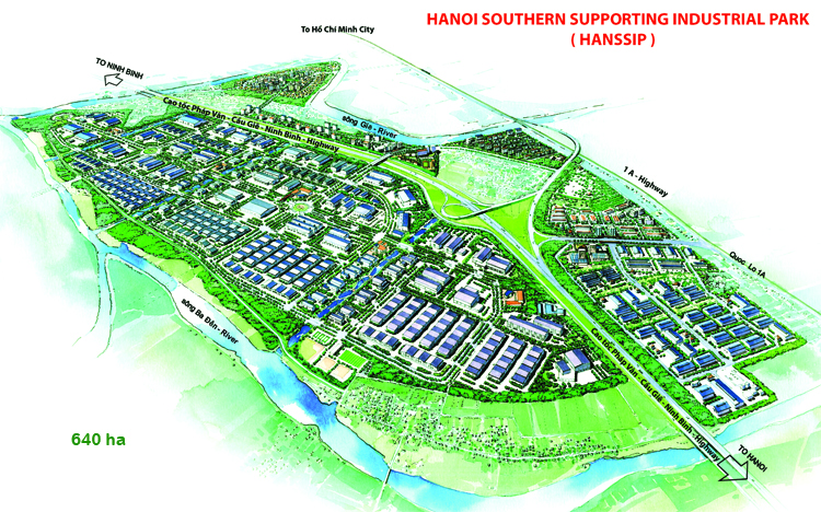 Hanoi Southern Supportting Industrial Park - HANSSIP